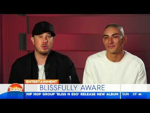 Bliss n Eso | Today show 'Off The Grid' piece | Friday 28 April