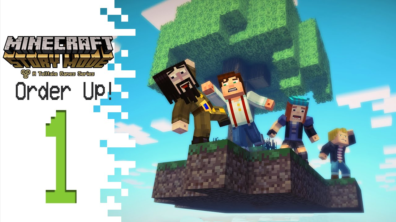 Minecraft Story Mode Episode 5 Part 1 Order Up Youtube