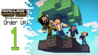 Minecraft: Story Mode (Episode 5) - Part 1 - Order Up!