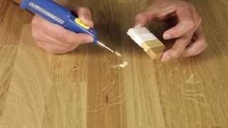 видео Ремонт и реставрация паркетного пола