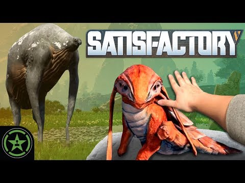 PETTING LIZARD DOGGOS - Satisfactory (Part 1) | Let's Play