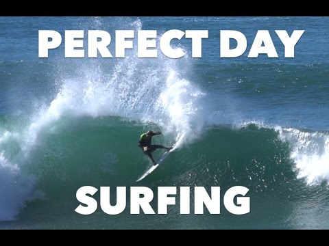 Perfect Day Surfing Barrels - January 27, 2017