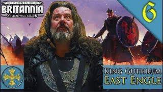 NORTH SEA EMPIRE FORMED Total War Saga Thrones of Britannia East Engle C aign Gameplay 6