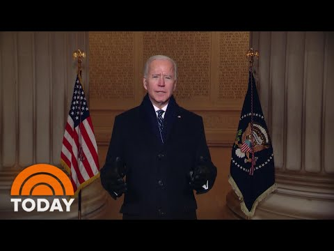 Biden Calls For Unity After Being Sworn In As 46th President | TODAY