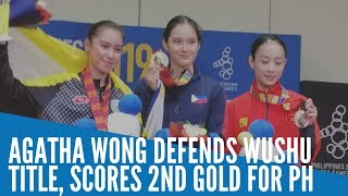 SEA Games 2019: Agatha Wong defends wushu title, scores 2nd gold for PH
