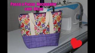 DIY – Passo a Passo Necessaire / Bolsinha de mão com Alças