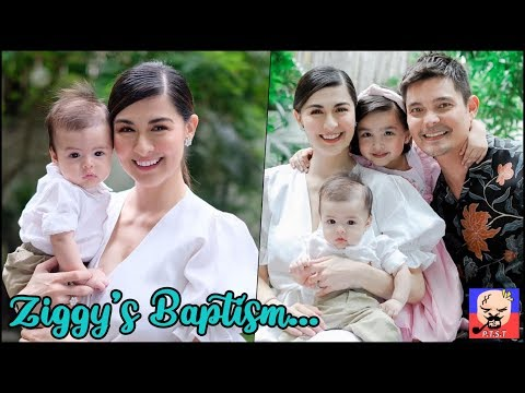 Dingdong Dantes and Marian Rivera's son Ziggy Baptism. - 동영상