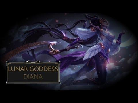 Lunar Goddess Diana Skin Spotlight