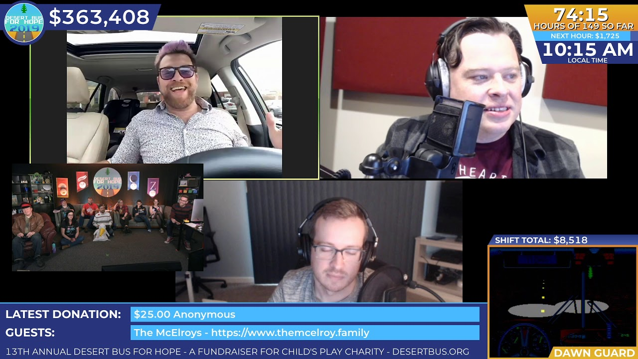 Download DB2019 - The McElroys call in