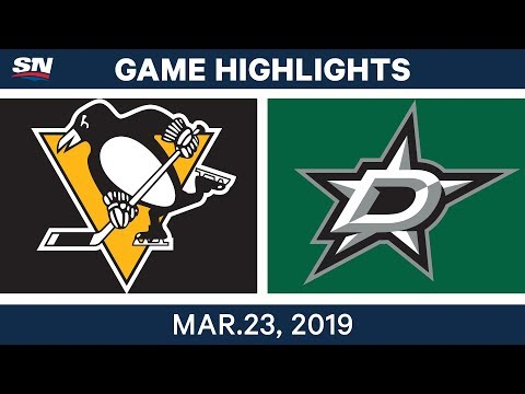 NHL Game Highlights | Penguins vs. Stars – March 23, 2019