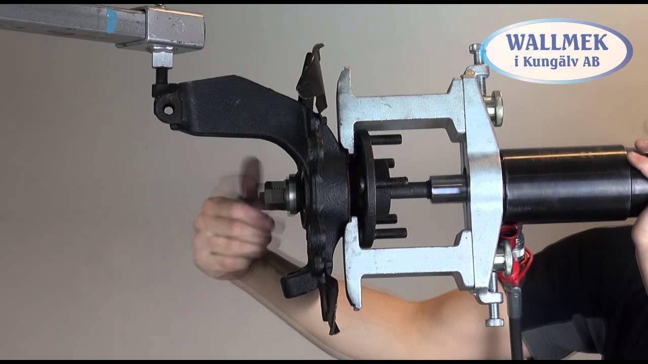 outil de d montage unl pour roulements de roue compacts 91469480 youtube. Black Bedroom Furniture Sets. Home Design Ideas