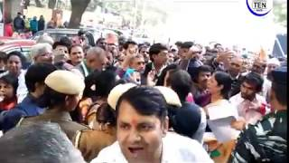 AICC Massive Protest in Delhi:  Arbind Singh (AIUWC) Speaks to Ten News | Domestic Workers Rights