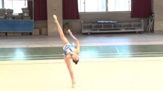 全國韻律體操錦標賽大專組競賽:龔芸