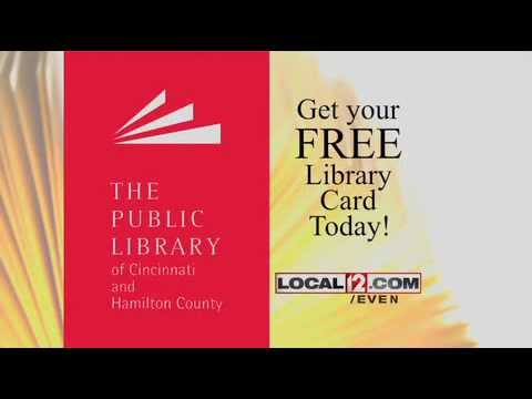 Get Your Cincinnati Library Red Card!