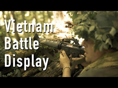 Fortress Wales 2015: The Vietnam Battle Display