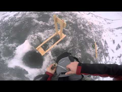 Ice Fishing Fox Lake Crappie And Perch 1-03-15