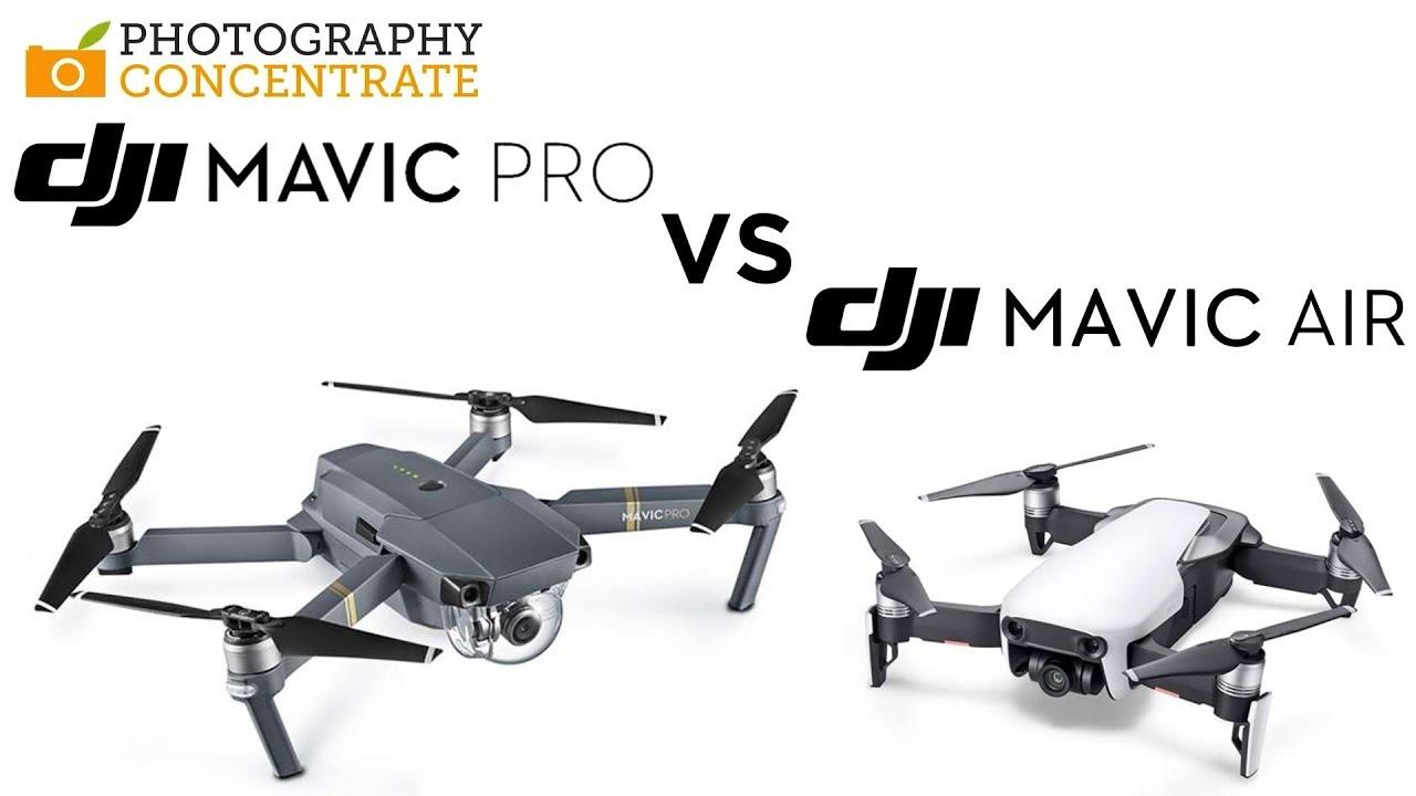 5ee4cf9efe1 Mavic Pro Vs. Mavic Air Comparison Full Review 2018. Photography Concentrate