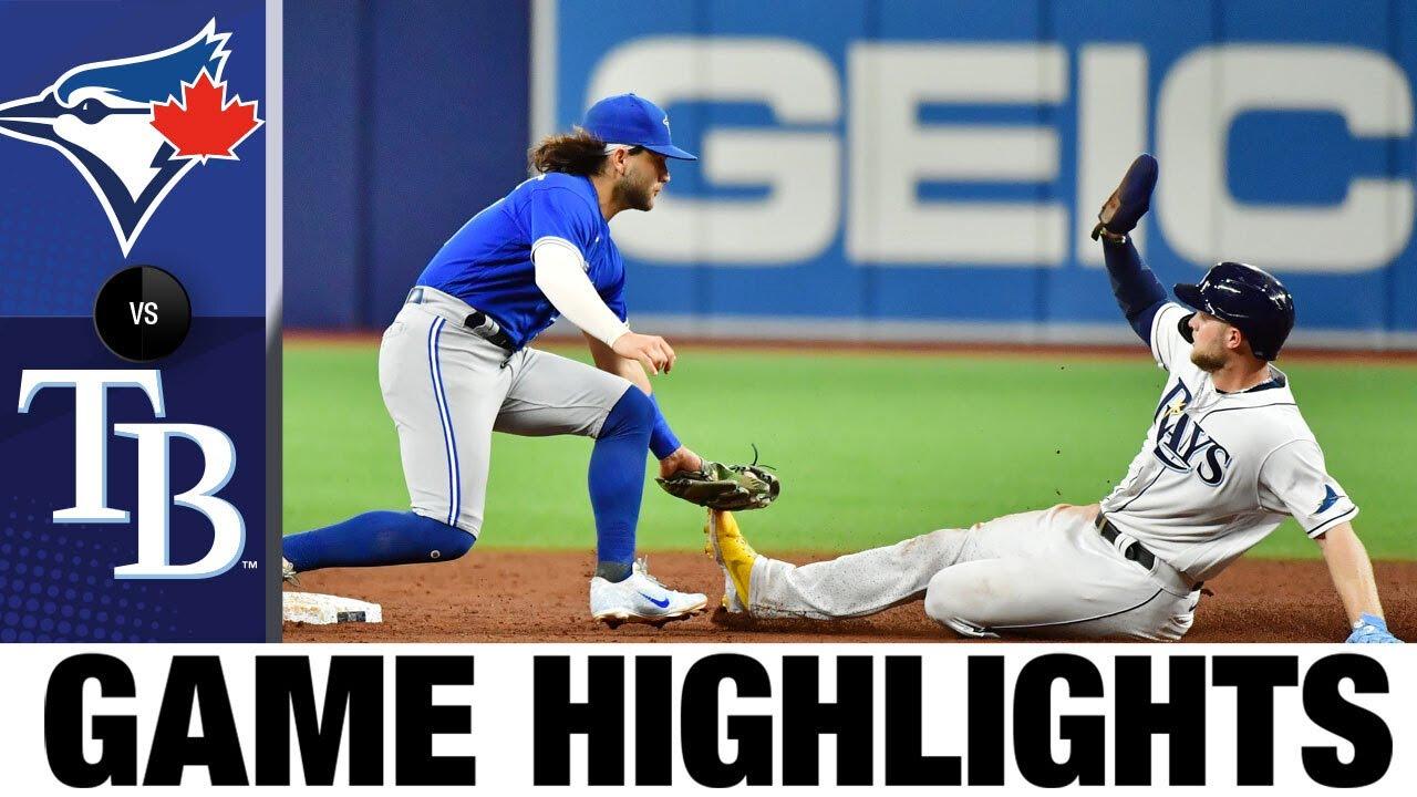Download Blue Jays vs. Rays Game Highlights (9/21/21) | MLB Highlights
