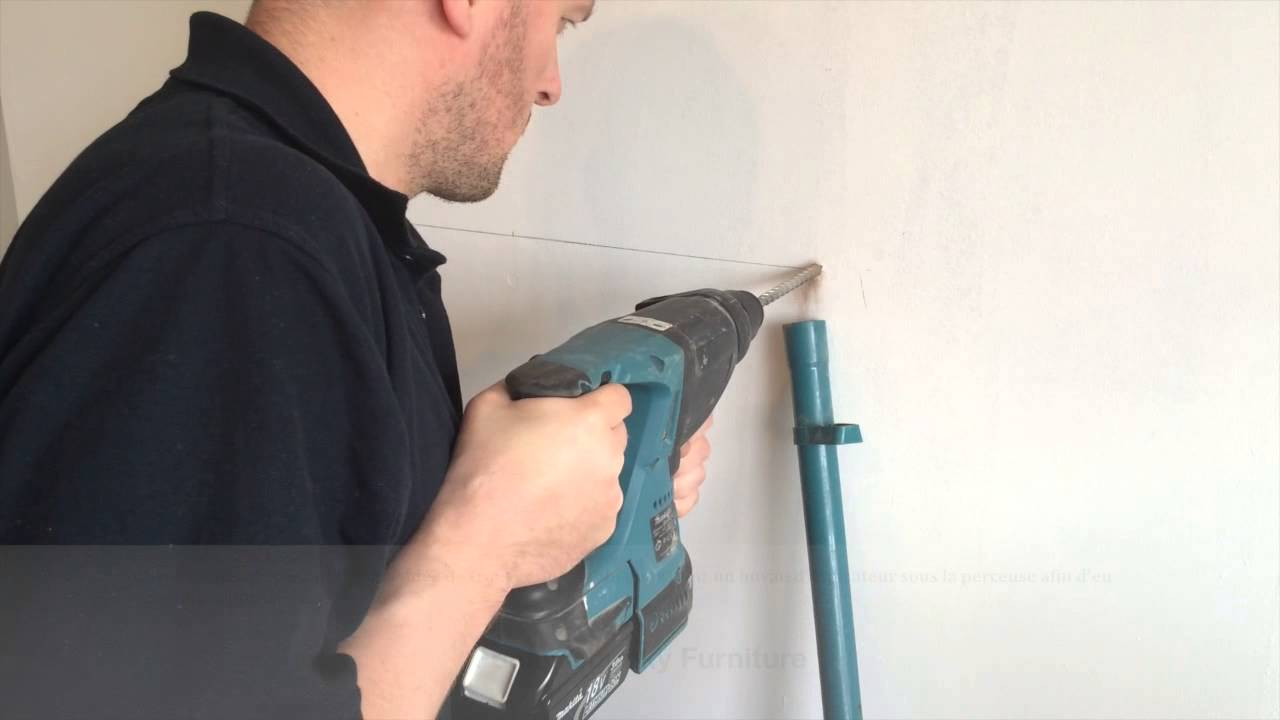 Comment Installer Une Etagere Murale Fixation Invisible Youtube