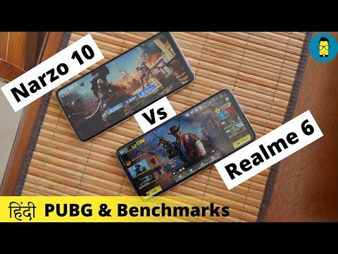 [हिंदी]-realme-narzo-10-vs-realme-6---pubg-gameplay-&-benchmark-comparison
