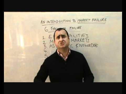 6 Types of Market Failure