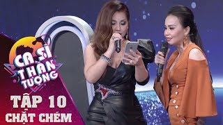 Minh Tuyết - Cẩm Ly lần đầu song ca hát LIVE Anh Bảy Nhớ Mẹ - Mẹ Tôi trong Ca Sĩ Thần Tượng Tập #10