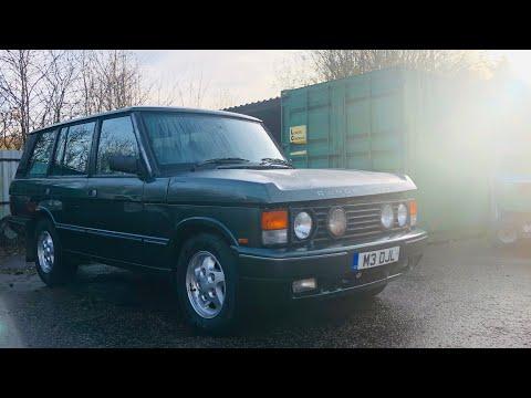 Rare Range Rover classic lse soft dash