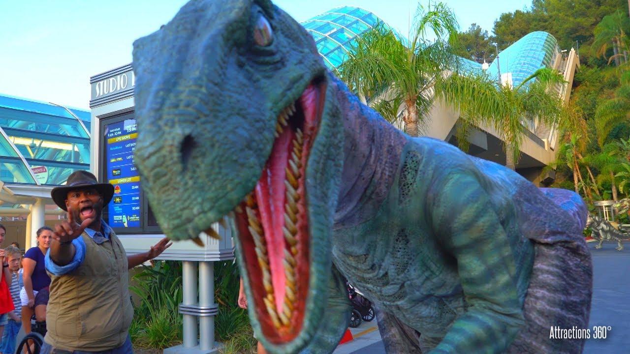 285d1ec6765  4K  Blue Raptor Encounter - Meeting Blue Velociraptor from Jurassic World