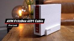 AVM FritzBox 6591 Cable: Erster Eindruck der schnellsten Kabel-FritzBox im Video