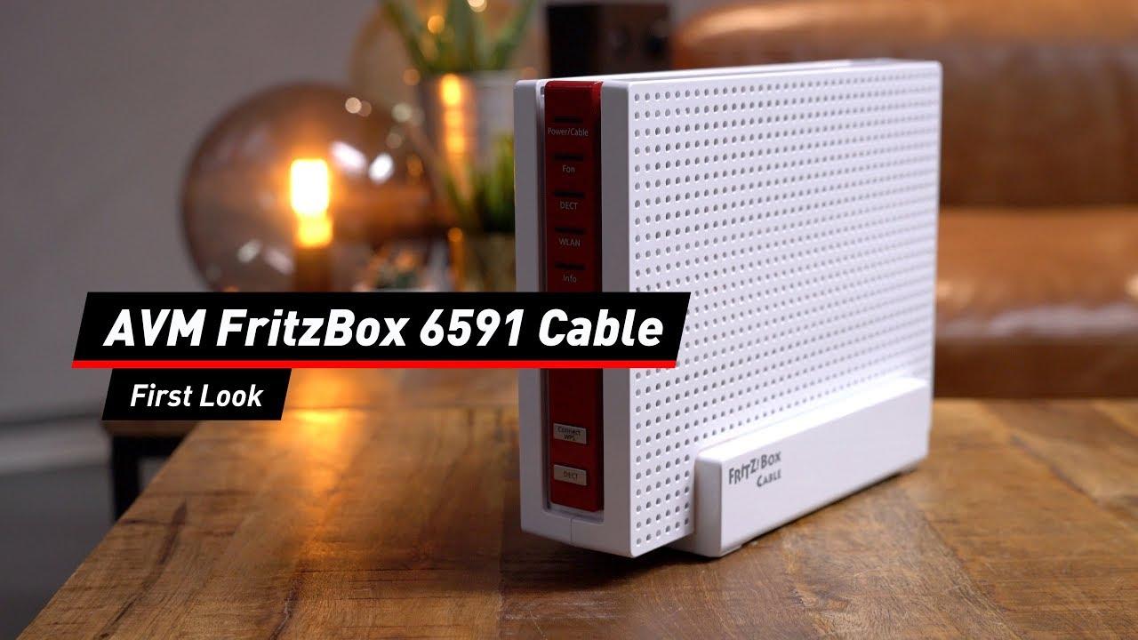 AVM FritzBox 6591 Cable: Erster Eindruck der schnellsten