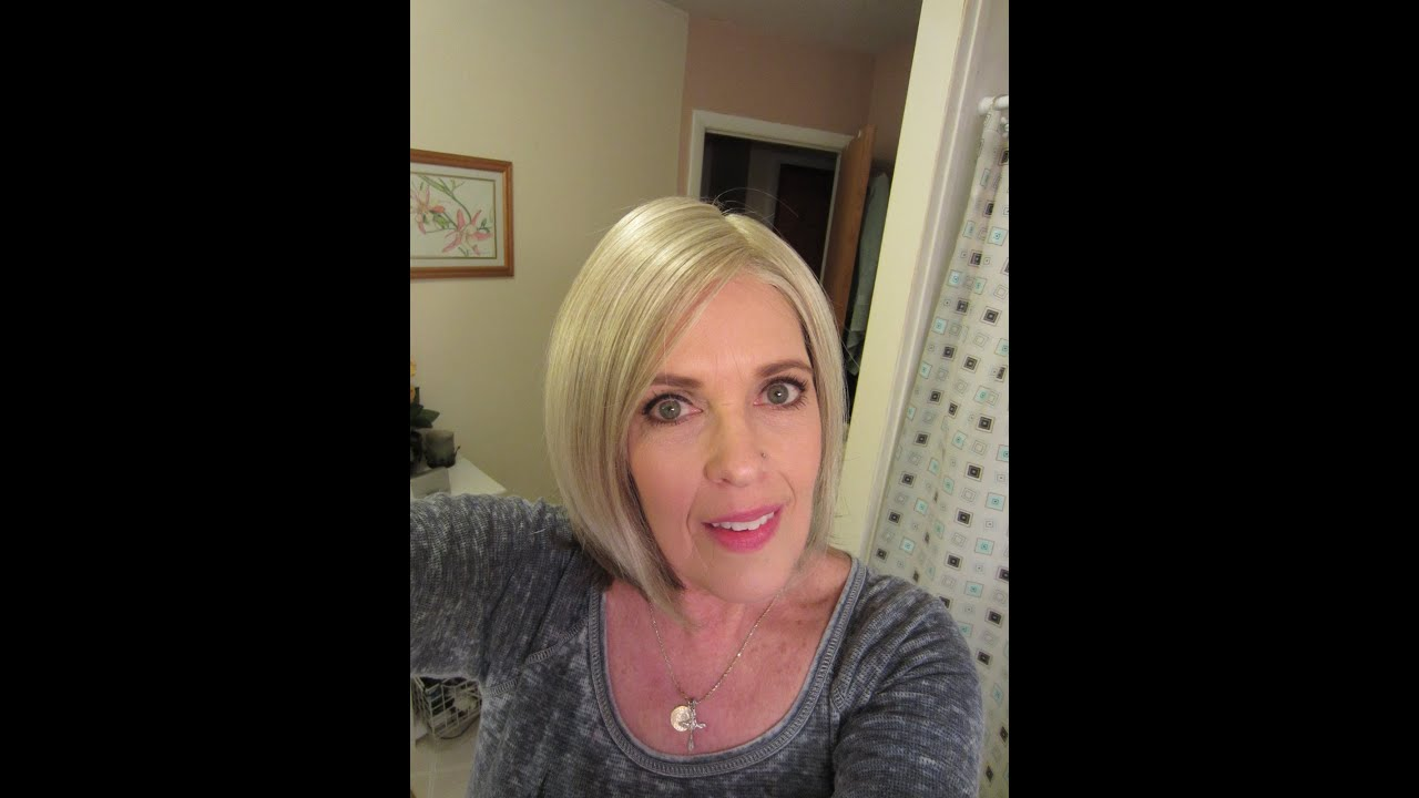Jon Renau Ebay Mono Top Lace Front Wig In Creamy Blonde Tones Youtube