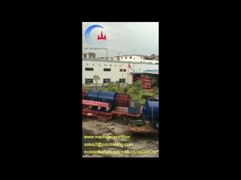 alluvial coltan ore washing machine drum scrubber washer for coltan ore mining plant