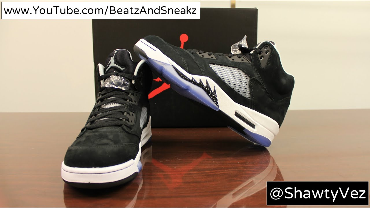 Air Jordan Retro 5 Oreo Review