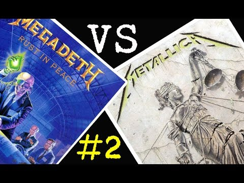 Megadeth vs Metallica - Batalla de los álbumes #2