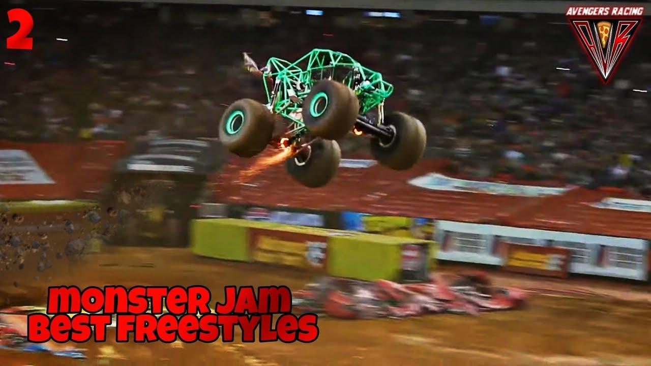 Monster Jam BEST FREESTYLES 2