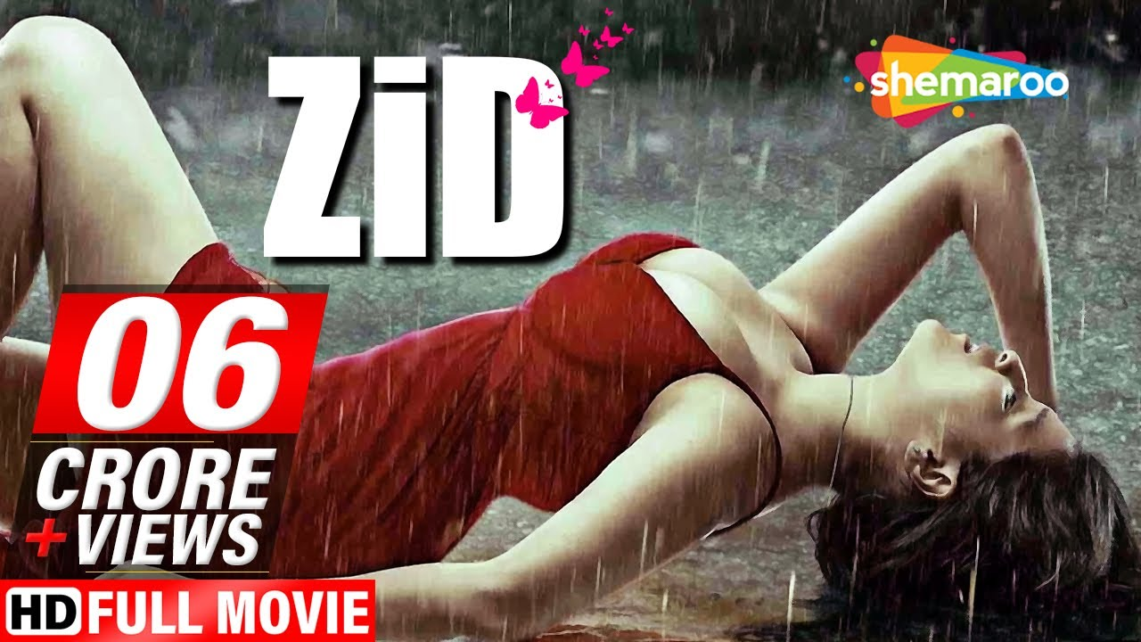 Download Zid (2014) (HD) Hindi Full Movie - Karanvir Sharma - Mannara Chopra - Shraddha Das - Romantic Film.