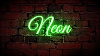 How To Make A Neon Sign Text Effect In Coreldraw