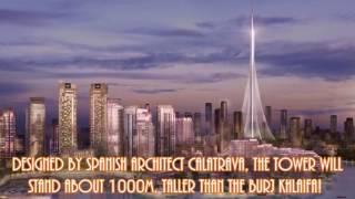 ne tower in dubai in 2020! called the dubai tower taller then burj dubai or khalifa