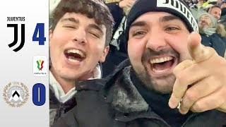DEMOLITI... JUVENTUS 4-0 UDINESE - COPPA ITALIA | REACTION ALL' ALLIANZ STADIUM w/ENRY LAZZA & BENVE