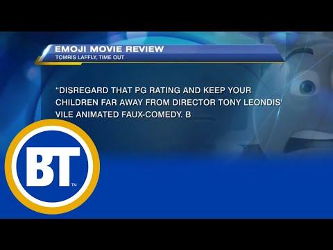 'Emoji Movie' second in box office sales this weekend, bad reviews