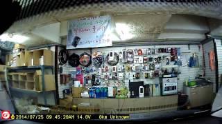 야누스 와이파이 2채널 블랙박스 전방 카메라 영상 GW…