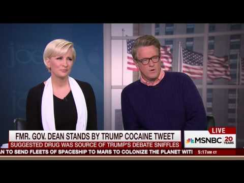 Morning Joe roasts Howard Dean for cocaine accusation against Trump, calls for apology