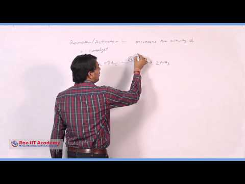 Catalyst & Catalysis - IIT JEE Main & Advanced Chemistry Video Lecture [RAO IIT ACADEMY]