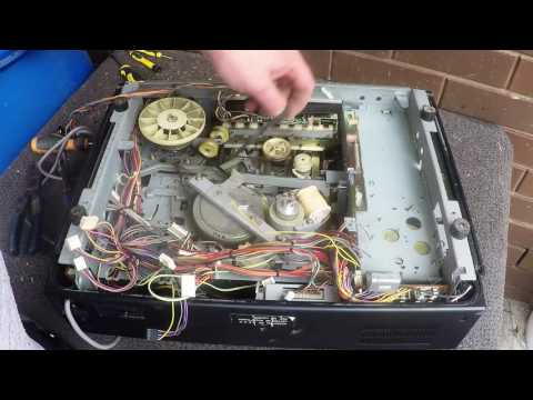 Scrapping a Betacord VCR - Sanyo VTC 9300PN