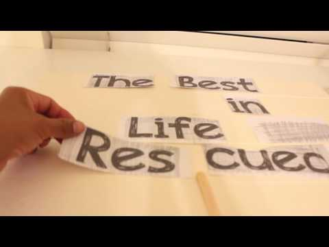 How I write letter on pallet signs. EASY way to transfer text  :)