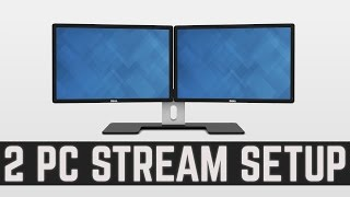 2 PC Streaming Setup - Lag Free Stream without Capture Card
