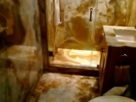Avian Blue Onyx Bathroom Youtube