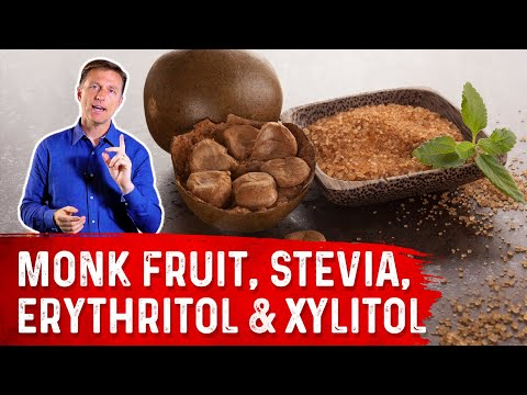 Using Monk Fruit, Stevia, Erythritol & Xylitol