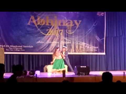 madhuri dixit tribute by NLC BVDU Pune Abhinay 2017
