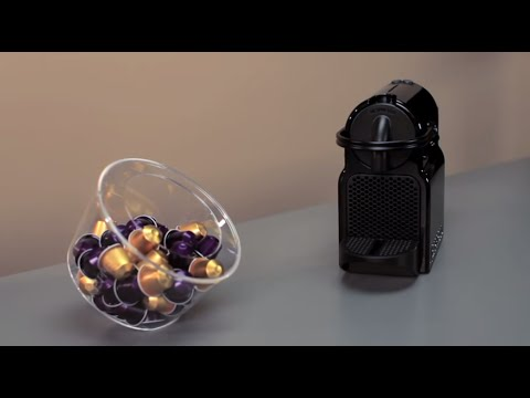 Nespresso Inissia How To Directions For The First Use Youtube